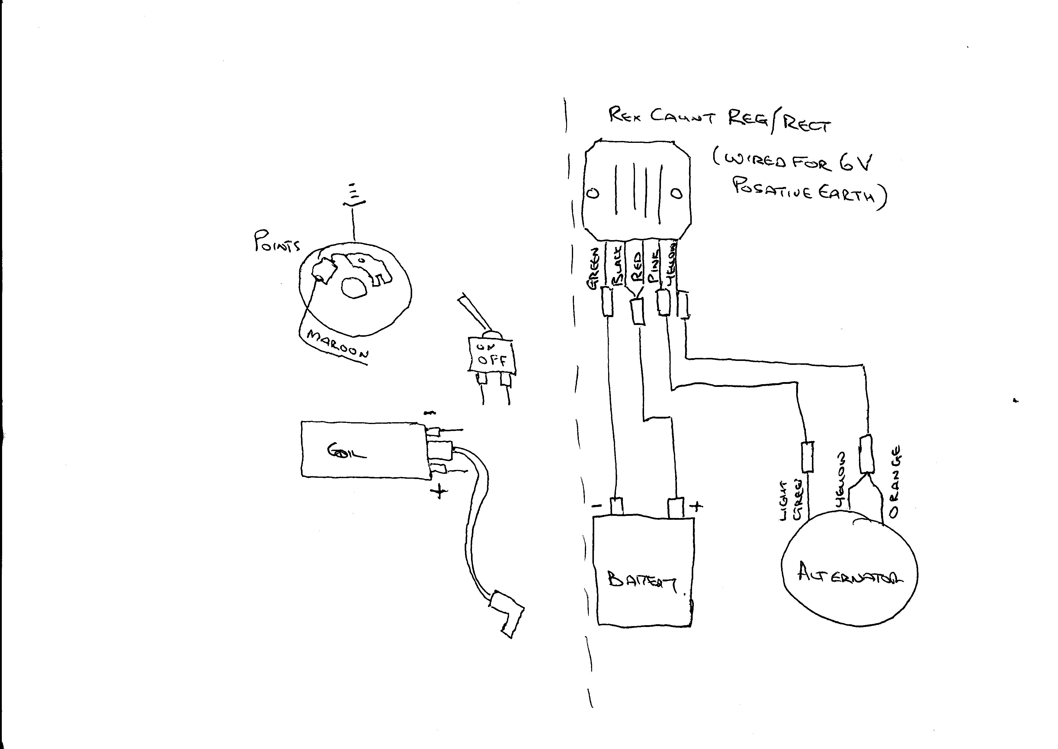 join the dots simple wiring for trail bike d10 d14 and b175 Electrical Wiring Diagrams For Dummies scan0003 jpg