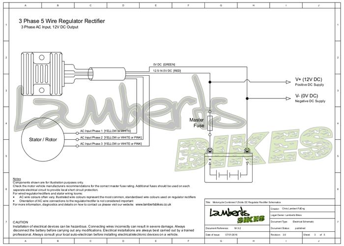 Rex Caunt Regulator Rectifier Fitting Instructions D10 D14 And