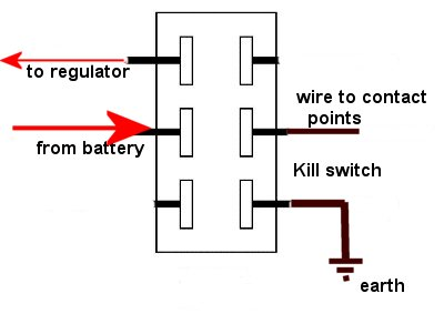 wiring diagram confusion bantam technical discussion forum switch contact 1 jpg