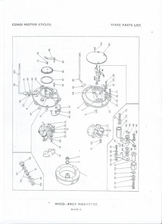 Wipac Geni Mag Flywheel Identification Query